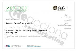 Acreditación profesional en email marketing. Reacciona Marketing