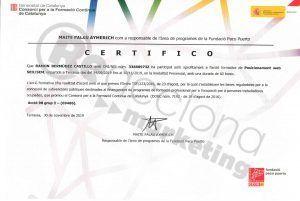 acreditación en posicionamiento SEO-SEM. Reacciona Marketing