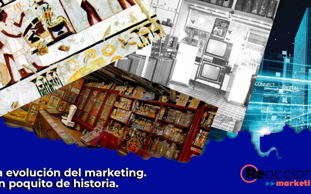 La evolución del Marketing. Un poquito de historia.