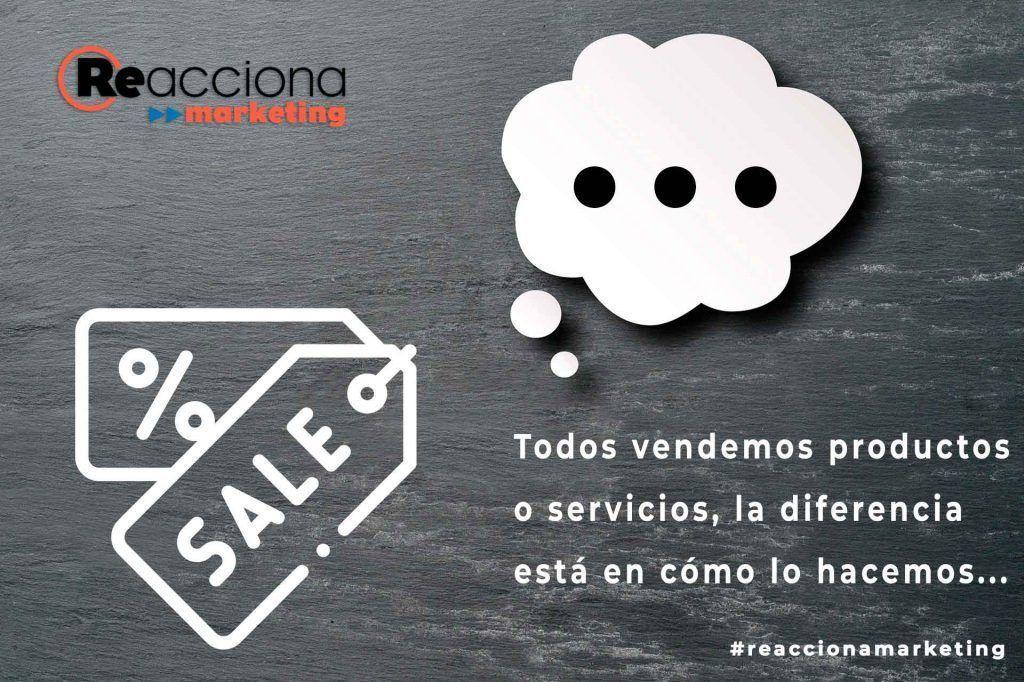 ideas de marketing. Todos vendemos productos y servicios, la diferencia está en cómo lo hacemos.