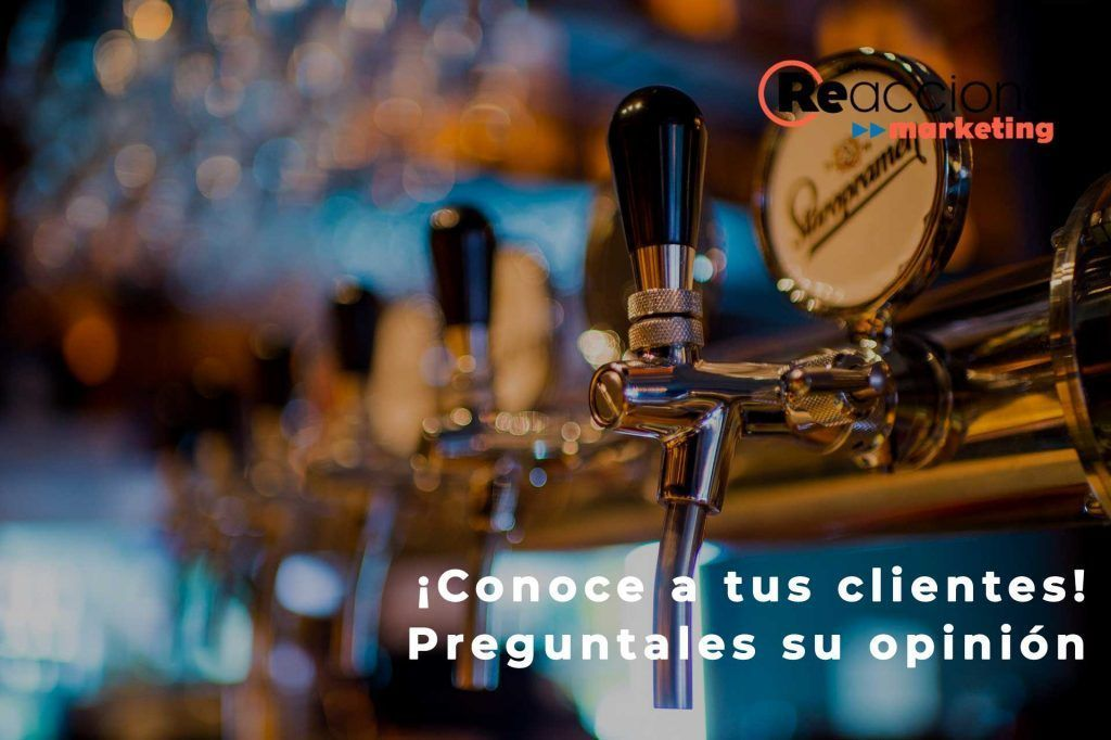 Marketing para bares y restaurantes. Conoce a tus clientes